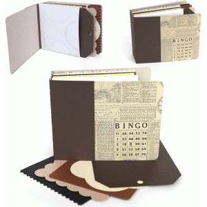 3d lori whitlock chipboard pocket mini album