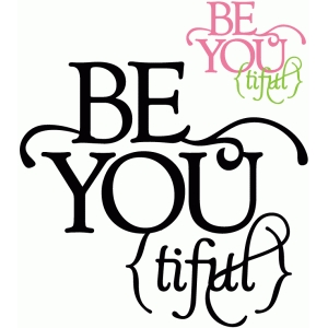 be you-tiful - vinyl phrase