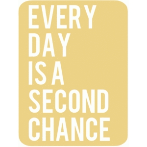 second chance 3x4 life card
