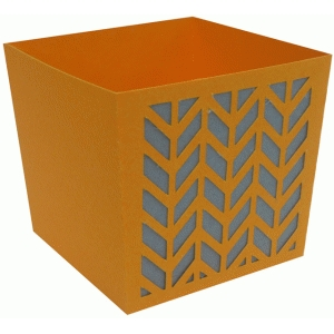 chevron candy box