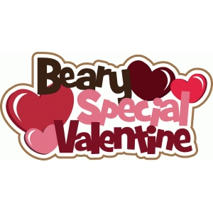 beary special valentine title/phrase