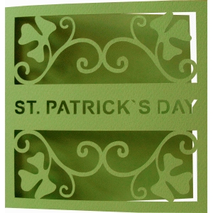 st. patrick`s day card