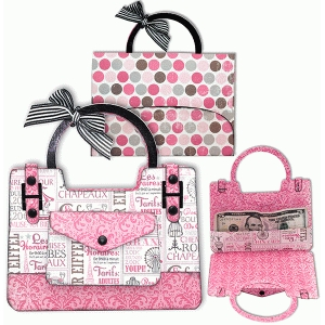 purse gift-card holder/envelope set