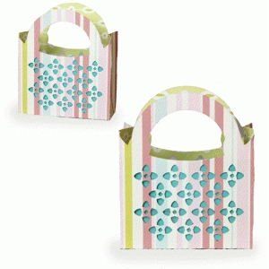 sateen gift bag