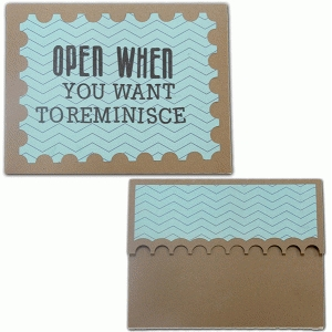 open when-you want to reminisce envelope