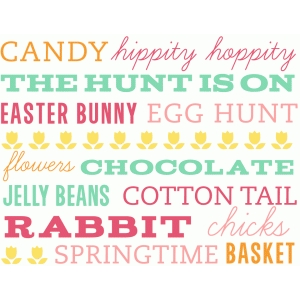 printable easter subway art