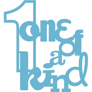 'one of a kind' phrase
