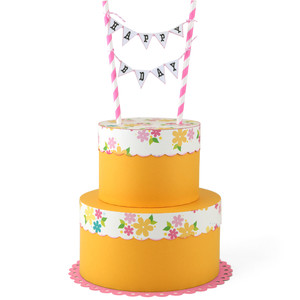 tiered cake birthday