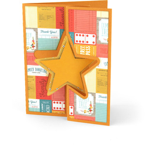 flip flap card star