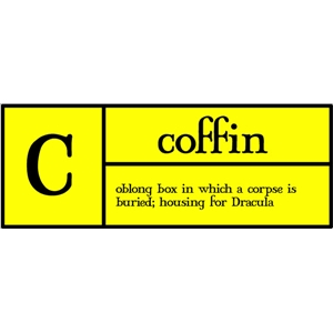c is for coffin pc