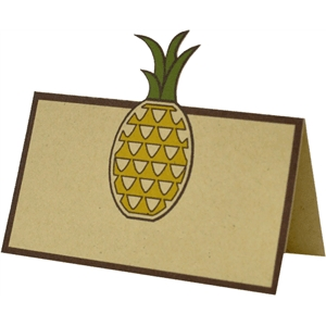 pineapple place card