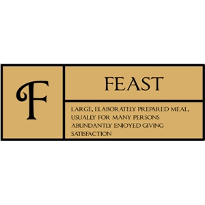 f  is for feast pc