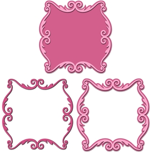 3 way ornate artisan frame