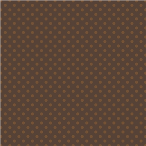 harvest brown dot pattern