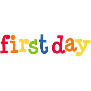 first day title - back to school