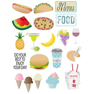 food planner stickers