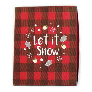 let it snow cookie box