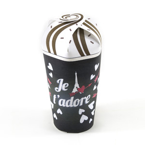paris chalkboard treat cup