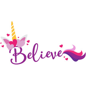 believe unicorn love