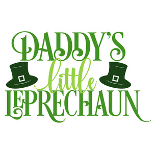 daddy's little leprechaun