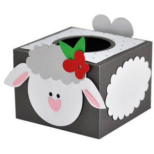 easter lamb egg holder