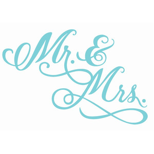 wedding mr and mrs phrase
