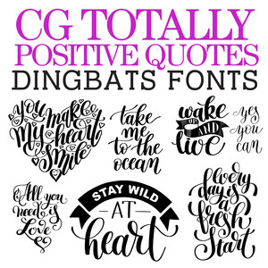 cg totally positive quotes