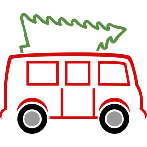 christmas tree and van lines