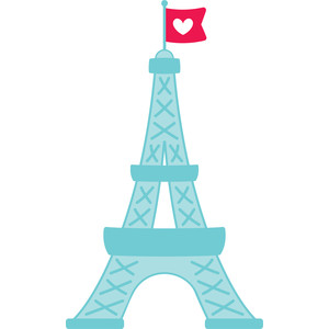eiffel tower - french kiss