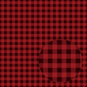 red & burgundy buffalo plaid seamless pattern