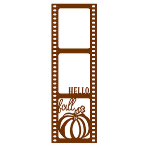 hello fall film photo frame