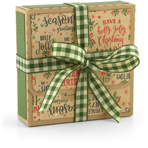 tuck flap christmas box