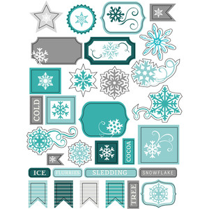 ml winter tag stickers
