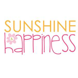 sunshine & happiness title