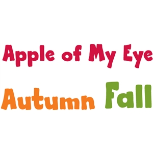 autumn / fall words