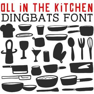 cg all in the kitchen dingbats