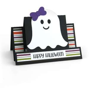 center step card ghost