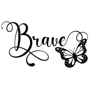 brave butterfly word