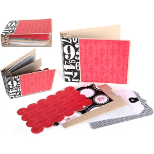 3d accordion binding mini album (1 of 2)