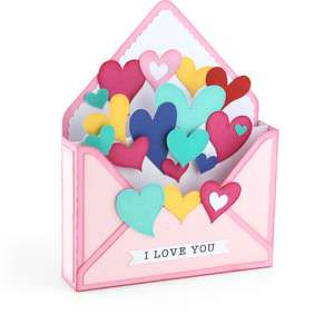 box card envelope heart
