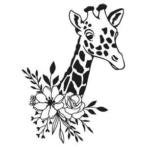 wildflower giraffe