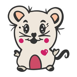 cute mouse design for kids