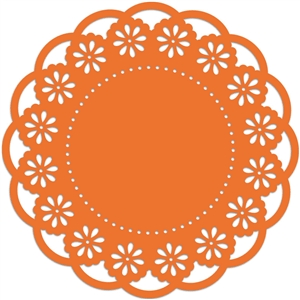 doily floral scallop