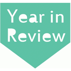 year in review arrow tab