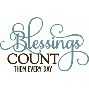 blessings count them all - phrase