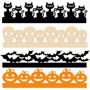 halloween borders set