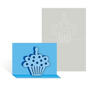 card pop up cupcake