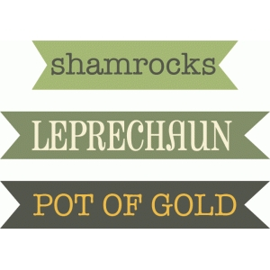 st patricks labels