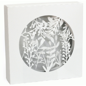 3d floral shadow box