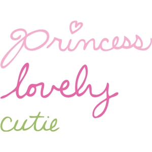 princess words